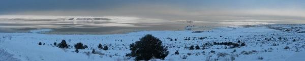 eastern sierra winter mono lake