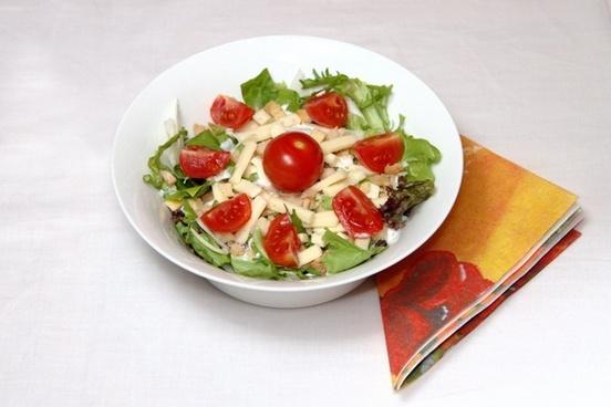 eat salad food