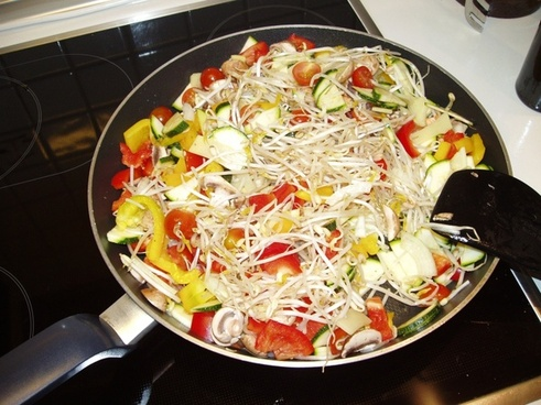 eat vegetables food