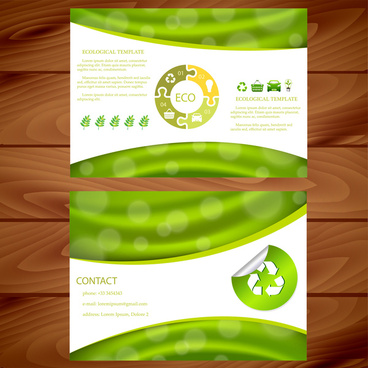 eco business card templates