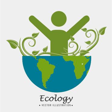 eco energy vector design template