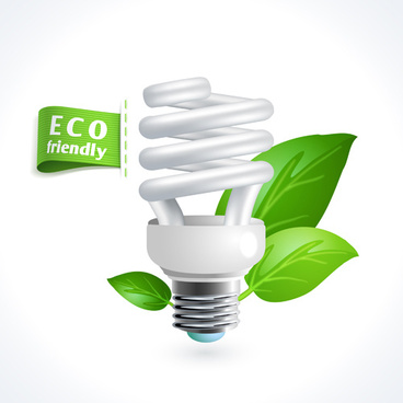 eco friendly logos creative vector design