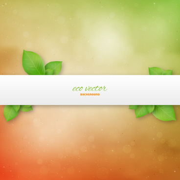 eco green background banner