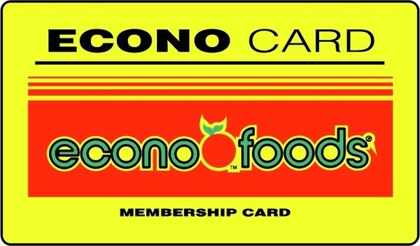 econo card econo foods