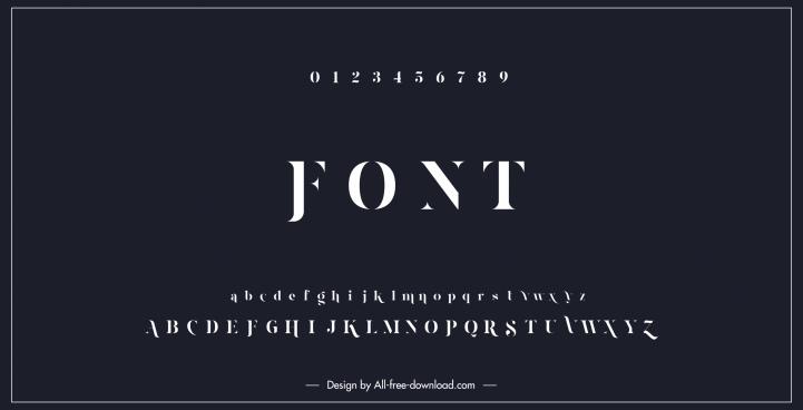education background alphabet numbers sketch dark modern