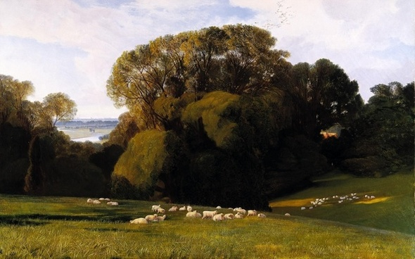 edward lear landscape painting