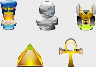Egypt Lumina Style icons pack