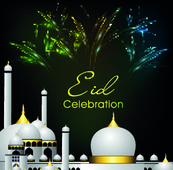 Eid mubarak free vector download 301 free vector for commercial eid mubarak style background m4hsunfo