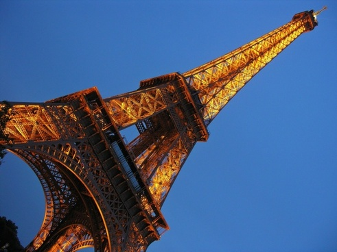 eiffel tower france paris