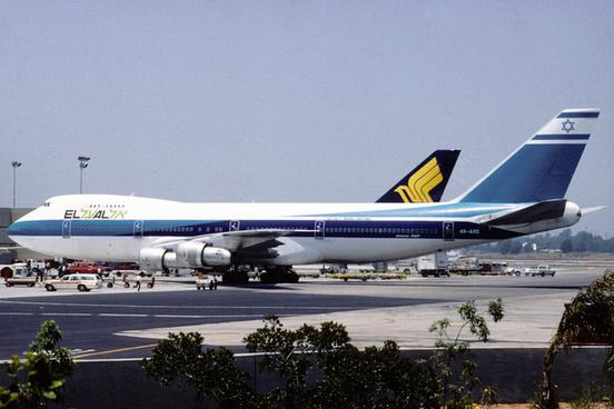 el al israel airlines boeing 747 258c 4x axd27221190