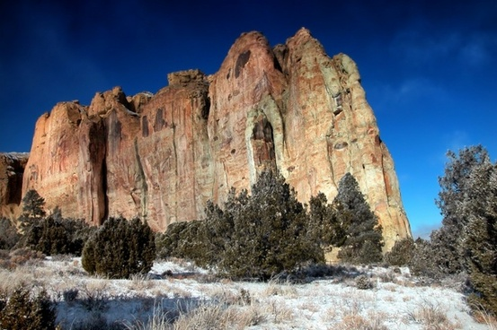 el morro national monument new mexico mountain