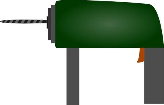 Electric Drill clip art