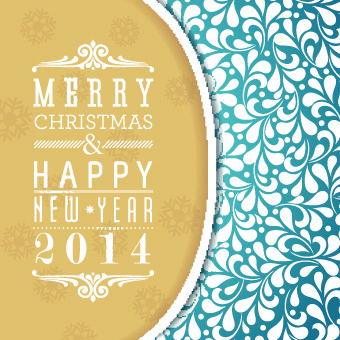 elegant14 christmas holiday backgrounds vector
