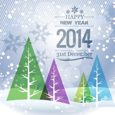 elegant14 new year background design vector