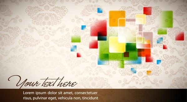 elegant banner background vector