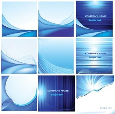 elegant blue card background vector
