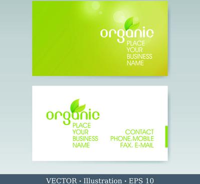 elegant business cards vectors illustration set