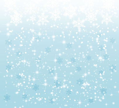 elegant christmas background with snowflakes
