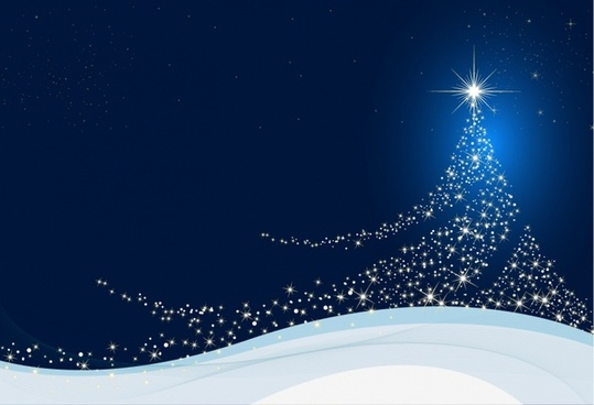 Christmas Tree Vector Free Download 10301 For