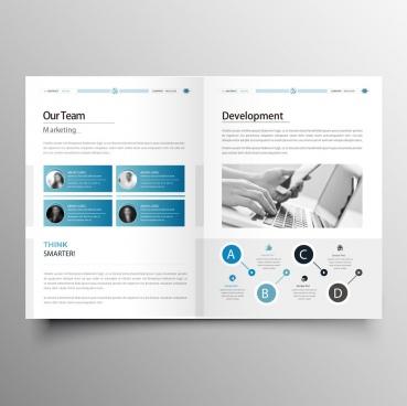elegant company brochure template