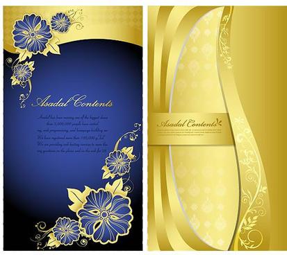 elegant decorative pattern background design vector