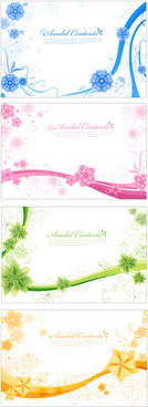 elegant decorative pattern background vector graphic