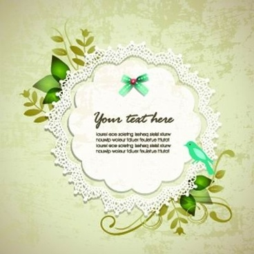 elegant design elements of collage vector background 1