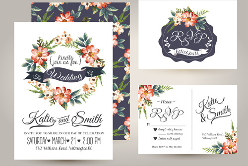 Free Elegant Border Design Vector Wedding Free Vector Download