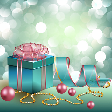 Abstract Birthday Present Free Vector In Adobe Illustrator