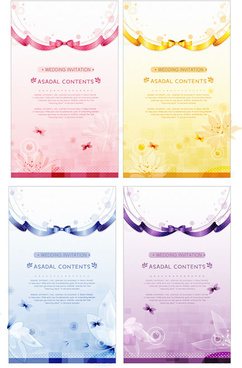elegant poster background vector