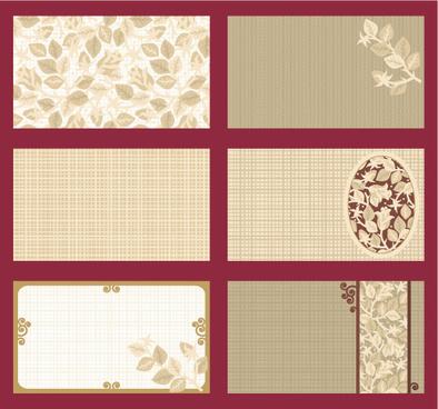 elegant rose style backgrounds vector