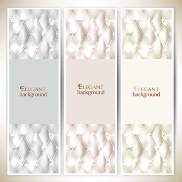 elegant sofa background banner vector