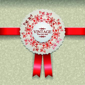elegant vintage background vector design