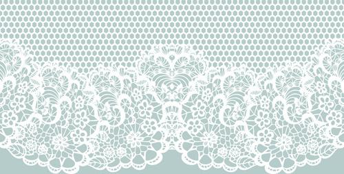 elegant white lace vector background