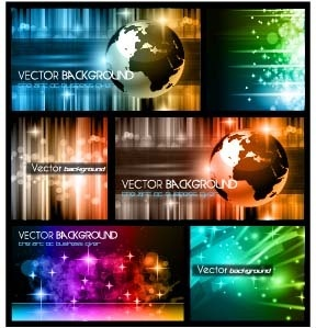 elements of13 theme backgrounds vector