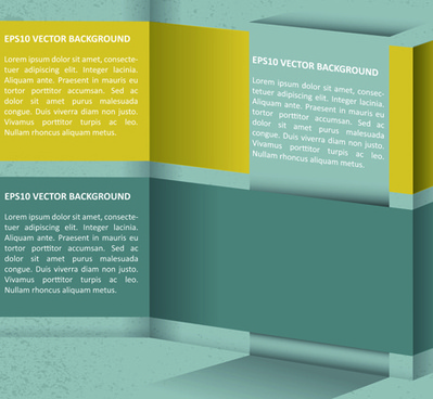 elements of business flyers and brochures cover vector