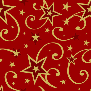 elements of christmas decorative pattern vector