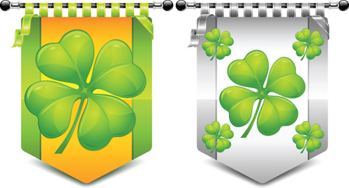 Elements of clover symbol vector