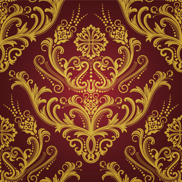 elements of ornate decorative pattern art vector set