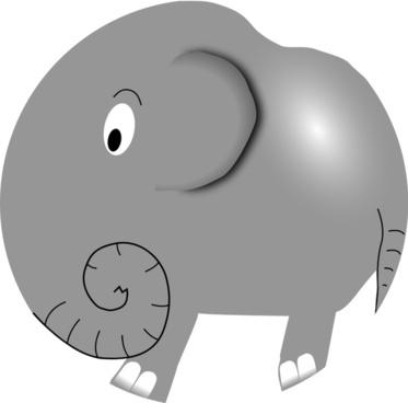 Elephant - Funny Little Cartoon