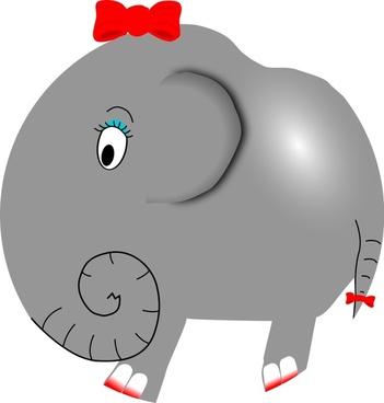 Elephant Girl - Funny Little Cartoon