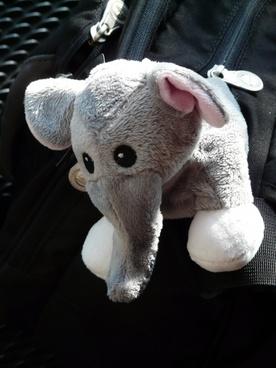 elephant stuffed animal fabric