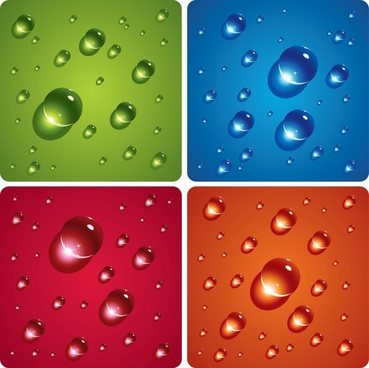 elfclear water drops vector