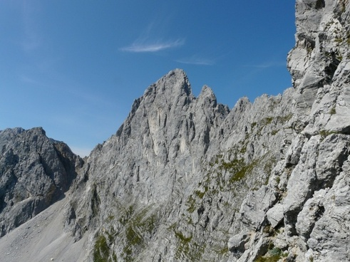 ellmauer halt rock points rocky towers