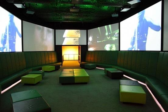 empty club interior