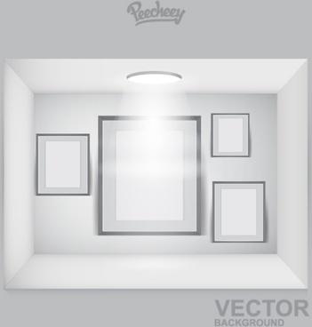 empty frames on the spot light