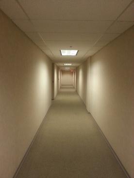 empty hallway office