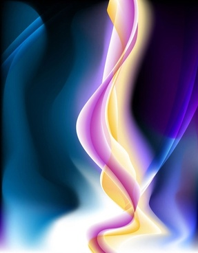 energetic and colorful flow lines background 05 vector