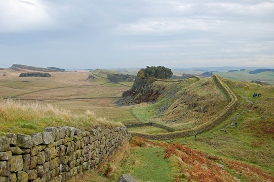 england great britain hadrian's wall