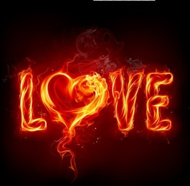 english love picture burning